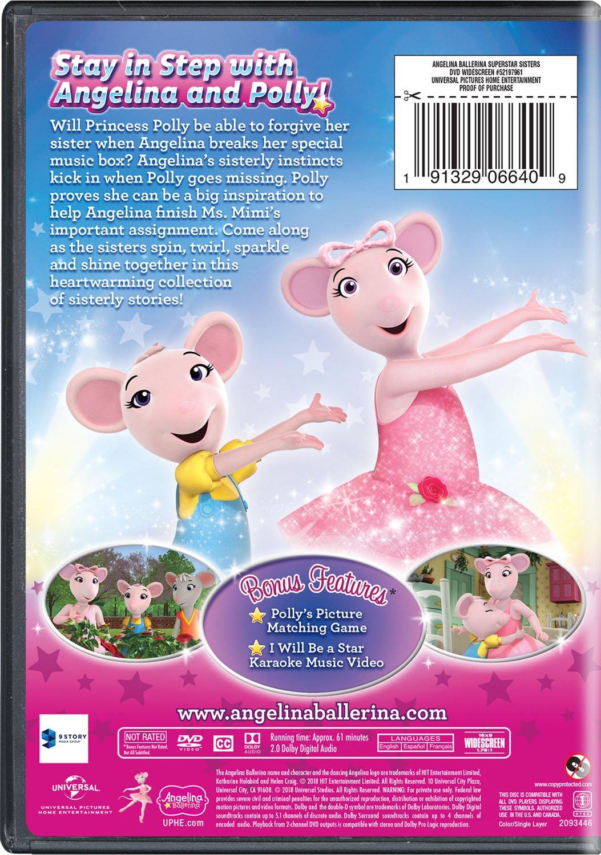 Amazoncom Angelina Ballerina Superstar Sisters Charlotte Spencer