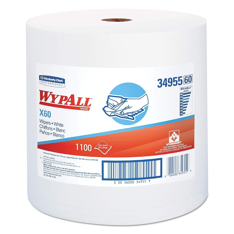 6 Rollos X 525 Pa/ños Wypall 7493 Pa/ños Dispensaci/ón Central Roll Control Azul 1 Capa