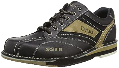 2f37a351c6c2 Dexter Men s Dexter SST 6 LZ Left Hand Bowling Shoes - Black Stone ...