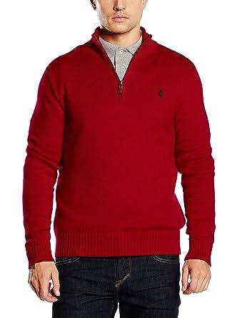 Polo Ralph Lauren Jersey Rojo XL: Amazon.es: Ropa y accesorios
