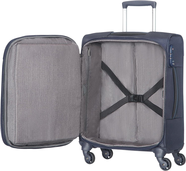 Noir 34 L Samsonite XBR Mob Office 4 Roues 55//20 Bagage Cabine 55 cm