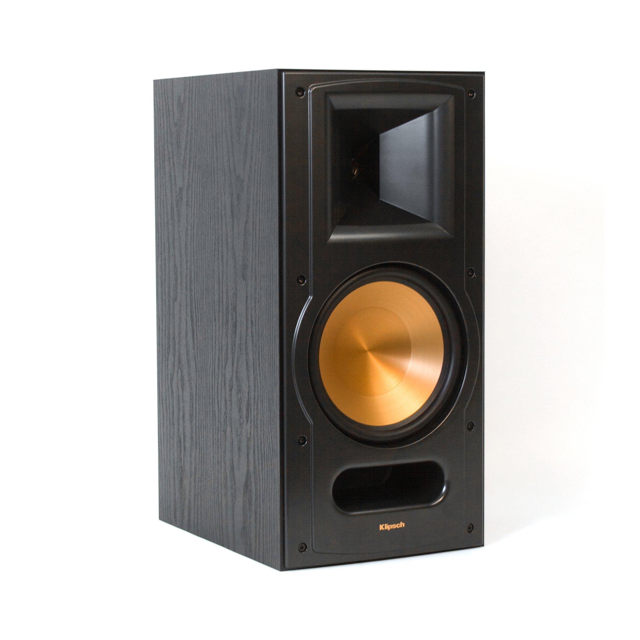 Klipsch RB-81 Reference II Two-Way Bookshelf Speaker - Black (Each) by Klipsch