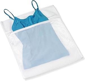 Honey-Can-Do LBG-01145 Lingerie Wash Bag, White