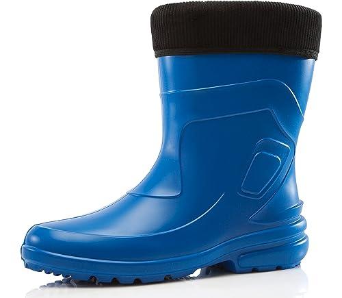 Ladeheid Botas de Agua Muy Ligeras Antideslizantes Zapatos de Seguridad Mujer LA-800-2017
