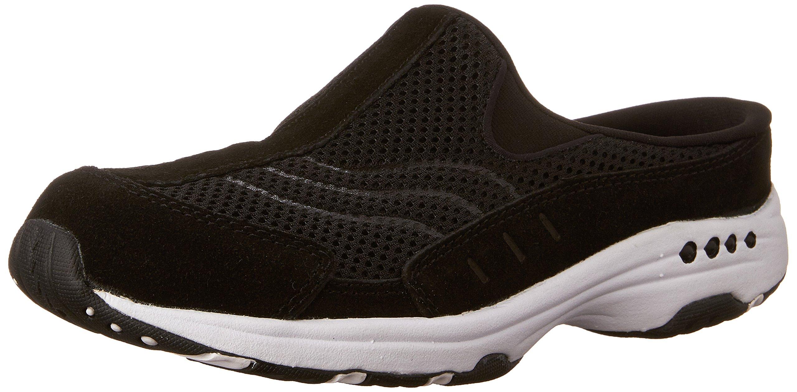 Easy Spirit Women's TRAVELTIME Shoe, black, 10 W US