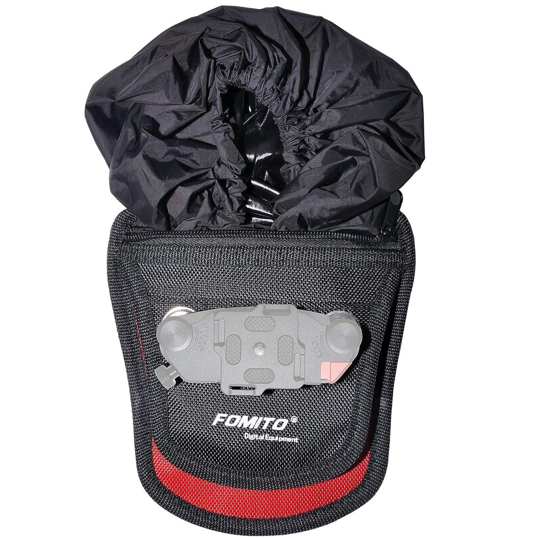 Rain Cover Black Fomito Camera Clip Pad