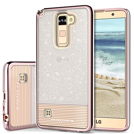 super popular cb56c 8da88 Phone Case for LG Stylo 2 Plus, LG Stylus 2 Case, LG Stylo 2 Case, BENTOBEN  Shockproof Ultra Slim Dual Layer Hybrid Bling Glitter Case Cover for LG ...