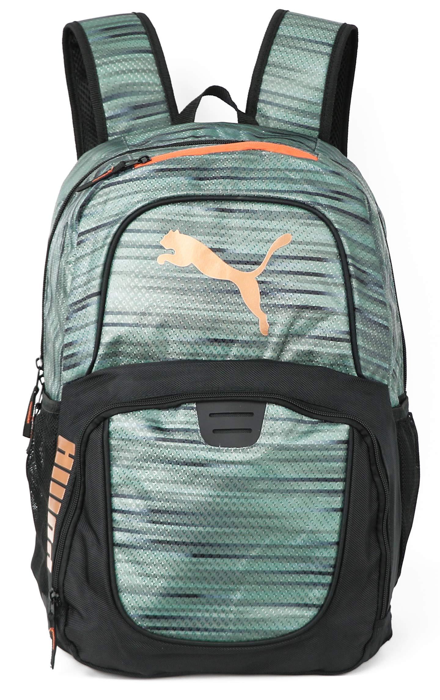 PUMA Men's Evercat Contender 3.0 Backpack (One Size, Dark Green)