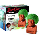 Chia Pet Bob Ross with Seed Pack, Decorative Pottery Planter, Easy to Do and Fun to Grow, Novelty Gift, Perfect for Any…