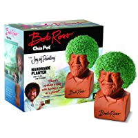 Chia Bob Ross Pet Pottery Planter