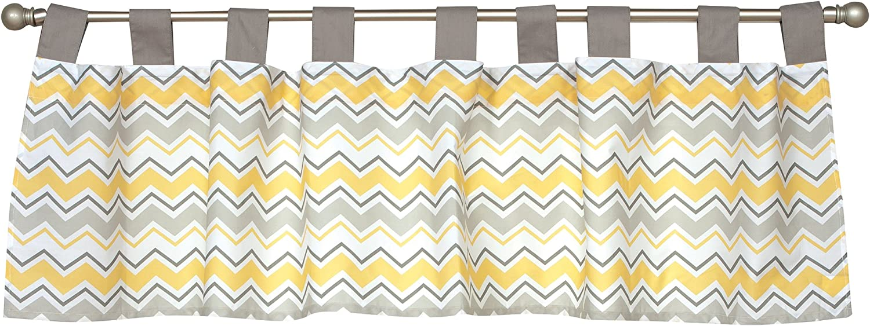 Trend Lab Buttercup Zigzag Window Valance 100919