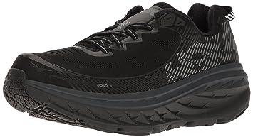 Hoka one one BONDI 5 Chaussures de sport Homme Noir