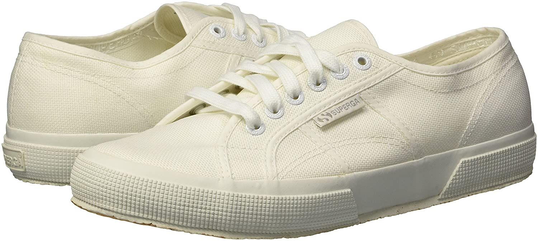 Superga Women's 2750 Cotu Classic 1 Sneaker B07BBDDDW5 39.5 M EU (8.5 US) White/White