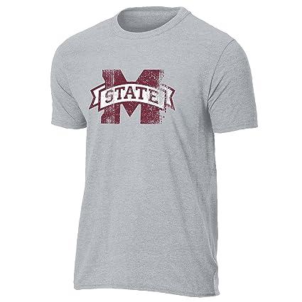 30761b72aa7 NCAA Mississippi State Bulldogs Men s Team Icon Vintage Sheer Short Sleeve  Tee