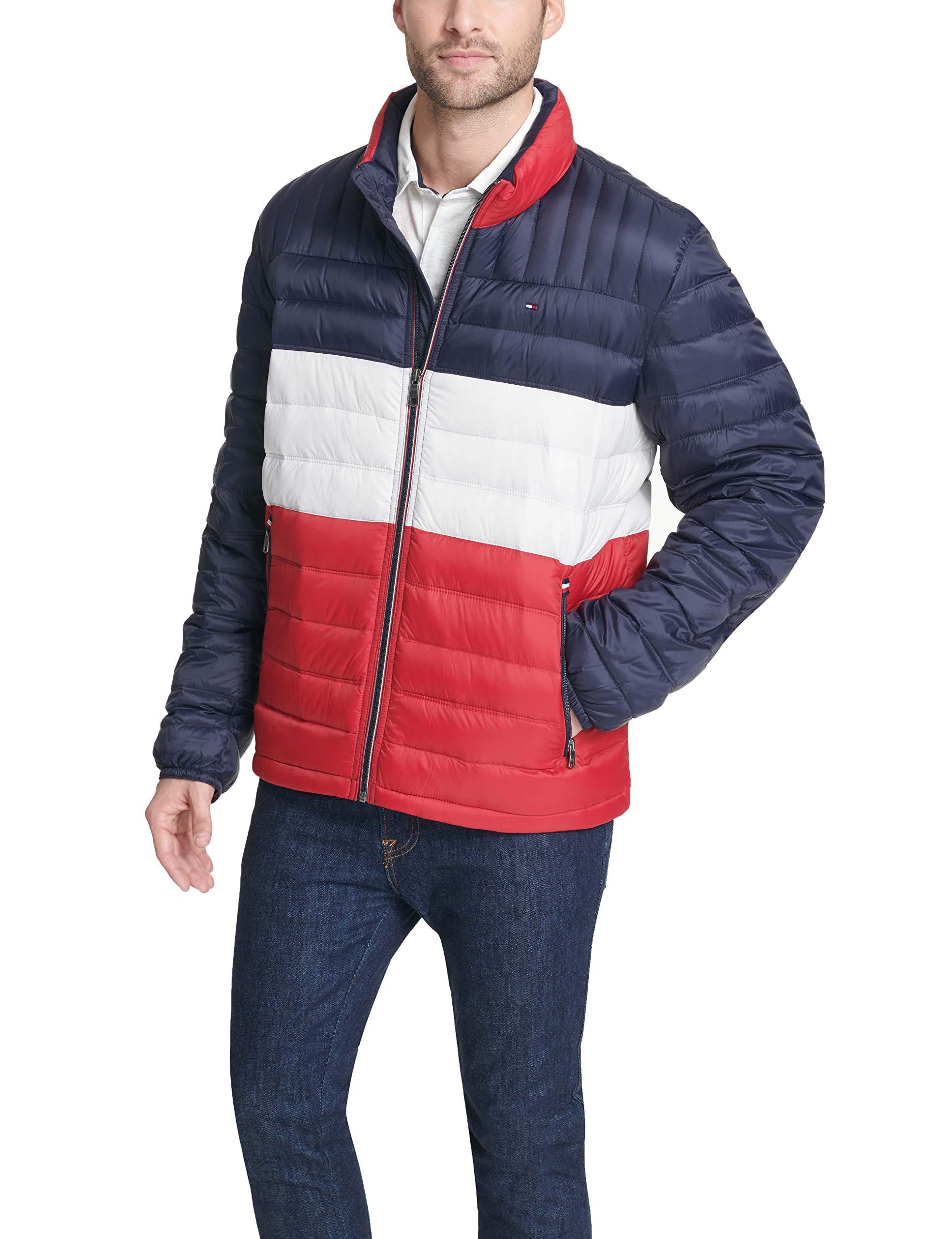 Regular and Big /& Tall Tommy Hilfiger Mens Ultra Loft Lightweight Packable Puffer Jacket