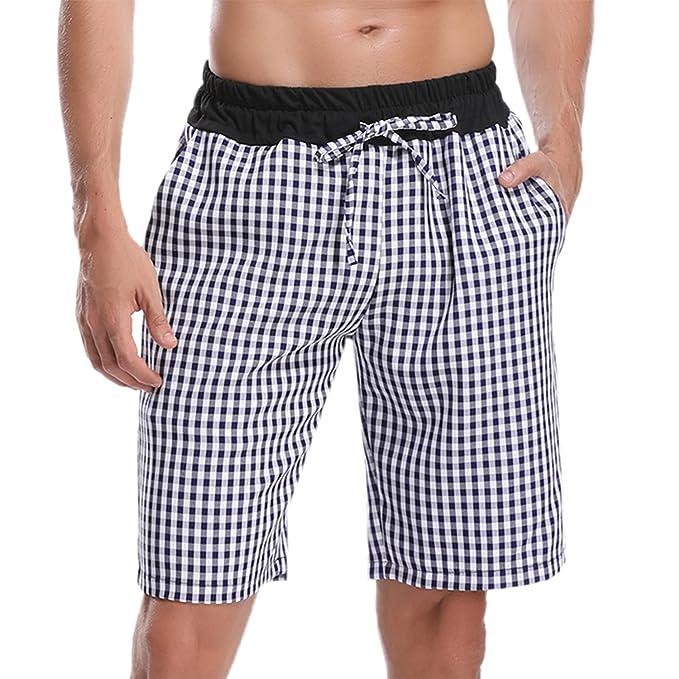 Hawiton Pantalones de Pijama Pantalones Cortos de Los Hombres de Verano 2018 Hombres Deportivos Shorts