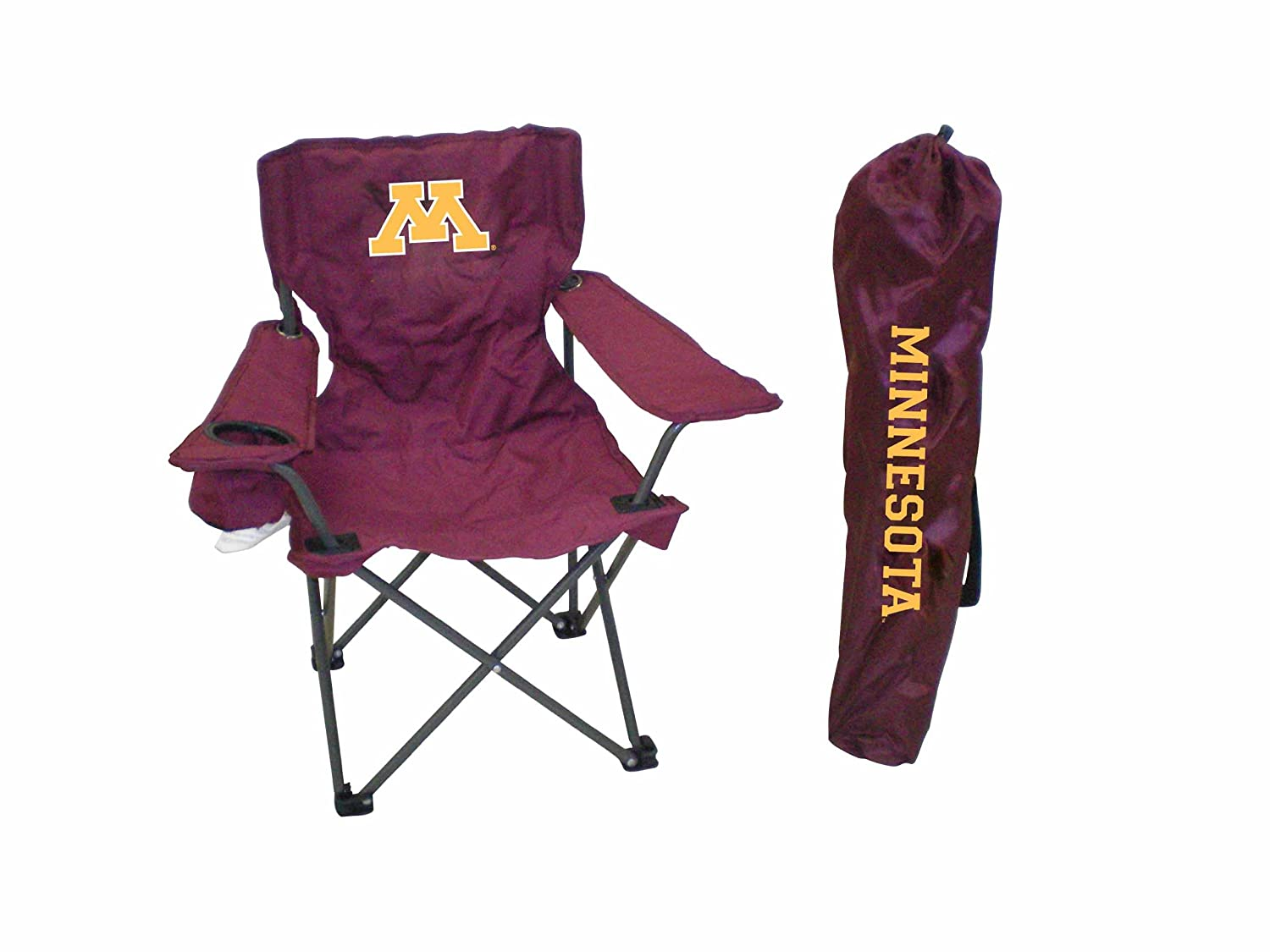 Rivalry NCAA Minnesota Golden Gophers Youth Folding Chair with Carrying Case