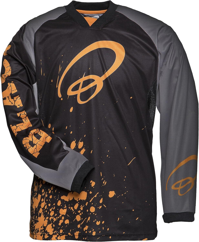 Black MX Splat Motocross Jersey