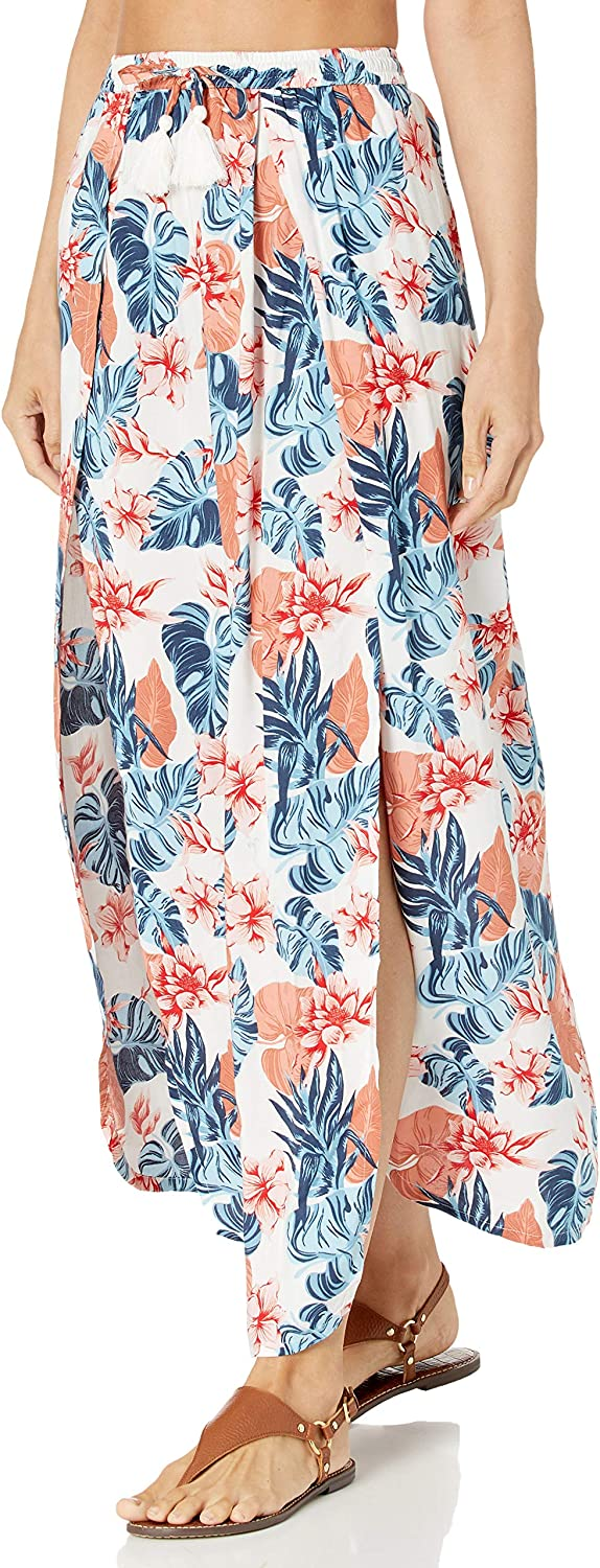 Roxy Women's Printed Cover-up Skirt