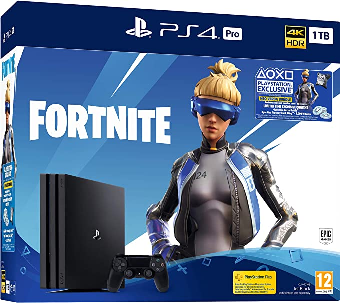 Fortnite Neo PS4 Pro 1TB Bundle - PlayStation 4 [Importación inglesa]: Amazon.es: Videojuegos