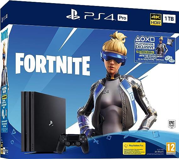Fortnite Neo PS4 Pro 1TB Bundle - PlayStation 4 [Importación ...