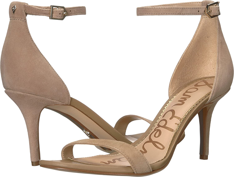 Sam Edelman Women's Patti Dress Sandal B07DFP34NQ 13 B(M) US Oatmeal Kid Suede Leather