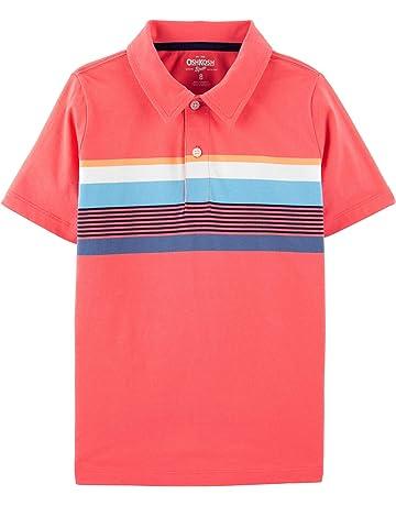 d084c318 OshKosh B'Gosh Boys' Toddler Short-Sleeve Polo Shirt
