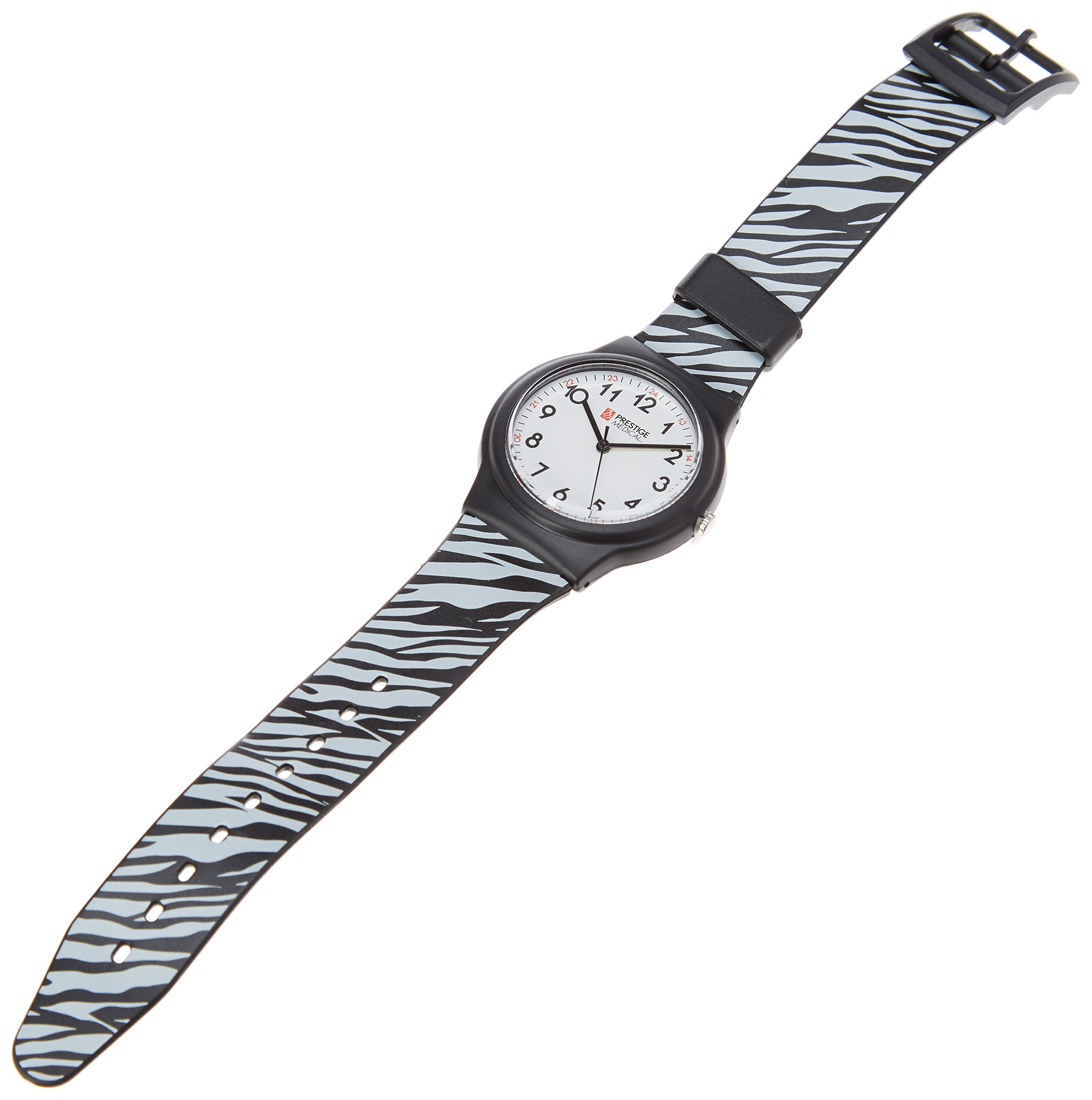 Prestige Medical Basic Scrub Watch, Zebra