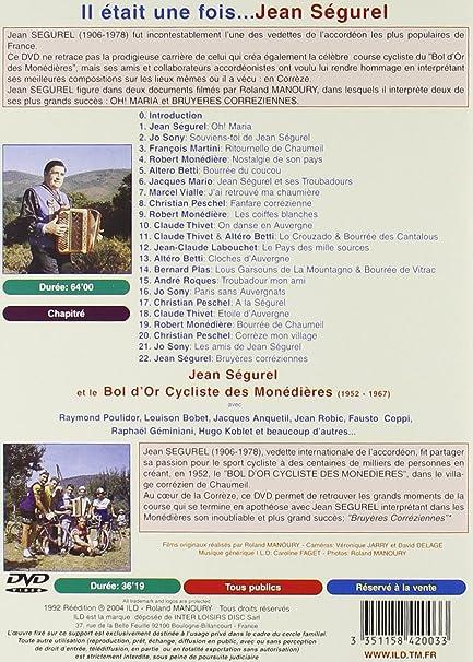 Amazon.com: Il était une fois Jean Ségurel: Movies & TV