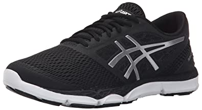 ASICS Women's 33-DFA 2 Running Shoe, Black/Silver/Onyx, 5