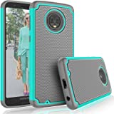 Moto G6 Case, Motorola G6 Cute Case, Tekcoo [Tmajor] Shock Absorbing [Turquoise] Rubber Silicone & Plastic Scratch…