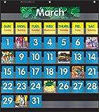 Scholastic Classroom Pocket Chart Calendar - Black