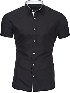 Kayhan Hombre Camisa Manga Larga Slim Fit S - 6XL Modello Royal: Amazon.es: Ropa y accesorios
