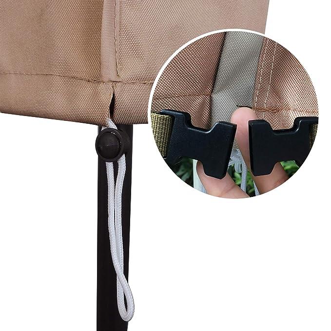 Amazon.com: Aok Garden - Funda impermeable para sombrilla de ...