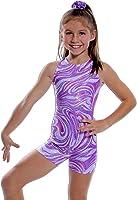 Razzleberry Gymnastics Biketard - Pink or Purple