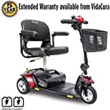 Pride Go-Go Elite Traveller 3-Wheel Scooter 12 Ah Battery w/ Avail Ext Warr