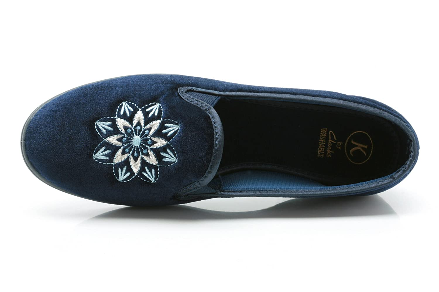 a4997e5d05e Ladies K s By Clarks Slippers Marsha Navy Size 8C  Amazon.co.uk  Shoes    Bags