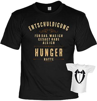 Lustiges Spruche T Shirt Fur Geniesser Geschenkset Hunger T