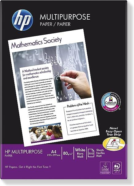 HP Multipurpose Paper-500 sht/A4/210 x 297 mm - Papel para ...