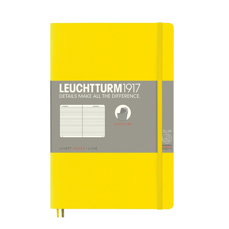 baya tapas blandas LEUCHTTURM1917 358295 Libreta de notas Paperback B6+ lisa 123 p/áginas numeradas