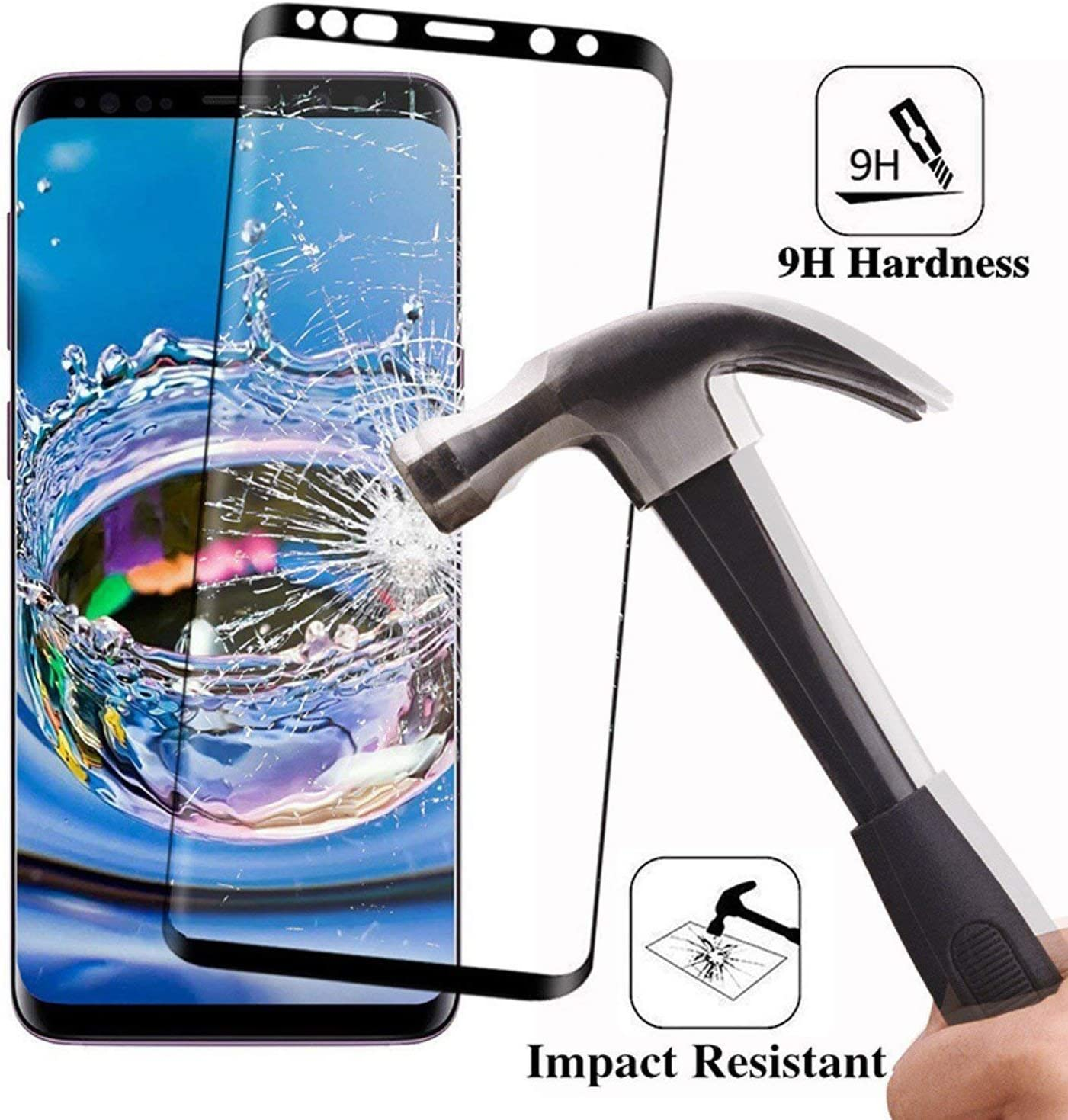 6D Curved Soft Protective Film for Samsung Galaxy S9 S8 S7 Edge Note 8 Screen Protector for Samsung S8 S9 Plus Film Not Glass for Samsung s8 Plus