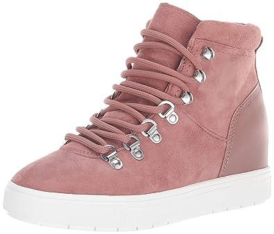 8808ec8322b STEVEN by Steve Madden Women s Kalea Sneaker Mauve Suede 6 ...