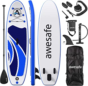 Awesafe Inflatable Stand Up Paddle Board