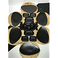 Keramika Mat Siyah 18 Parça 6 Kişilik Kahvaltı Takımı Asimetrik