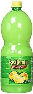 Realemon 100% Lemon Juice -48 Fl Oz Btls. By Realemon [Foods], Pack Of 2