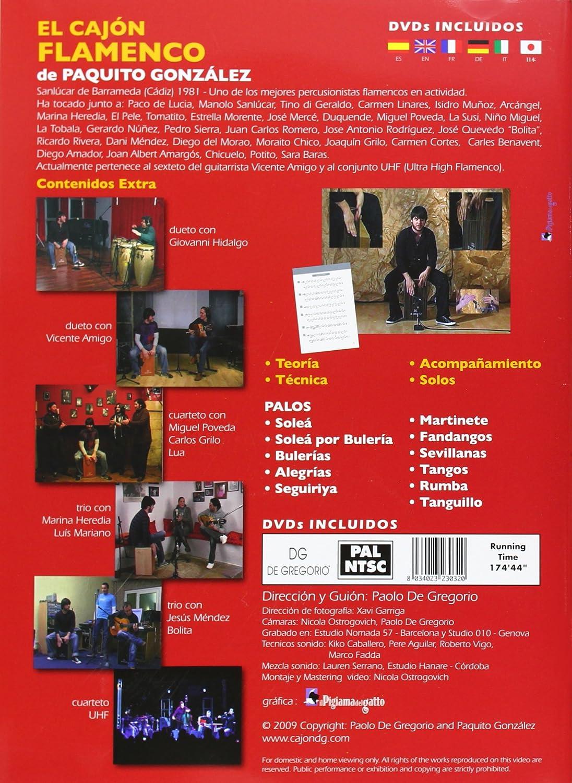 El Cajon Flamenco De Paquito Gonzalez 2dvd+Libro: Amazon.es ...