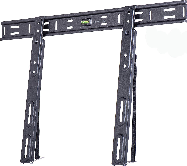 Amazon Basics Essentials Flache Tv Wandhalterung Für 127 215 9 Cm 50 85 Zoll
