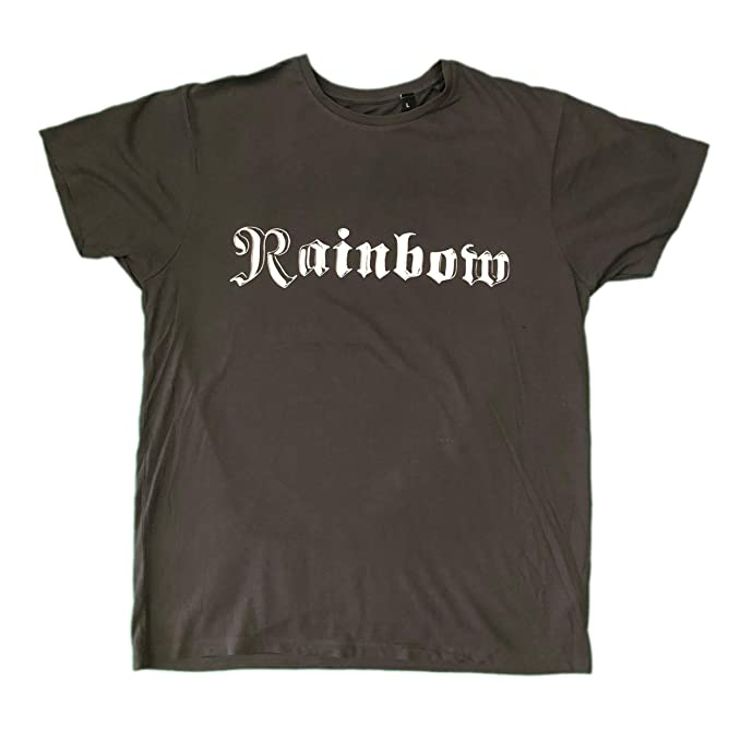 a1c737915 Rainbow Long Live Rock n Roll Unisex Official T Shirt Various Sizes Dio  Richie Grey: Amazon.co.uk: Clothing