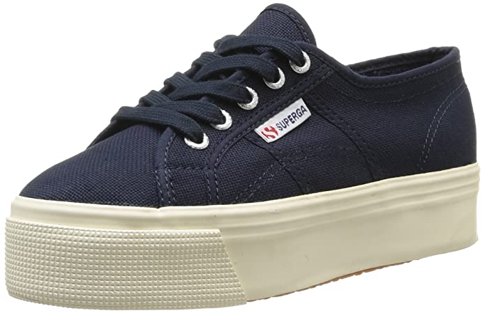 Superga 2790Cotw Linea Up And Down Sneaker Unisex Adulto Blu 933 Navy 35.5