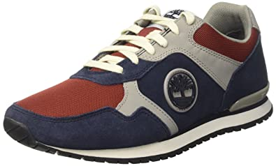 Timberland Retro Runner Oxtotal, Oxford Homme, Multicolore (Total Eclipse Hammer Suede),